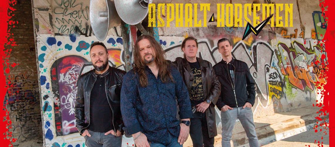Megjelent az Asphalt Horsemen albuma 180 grammos, sorszámozott, piros hanglemezen