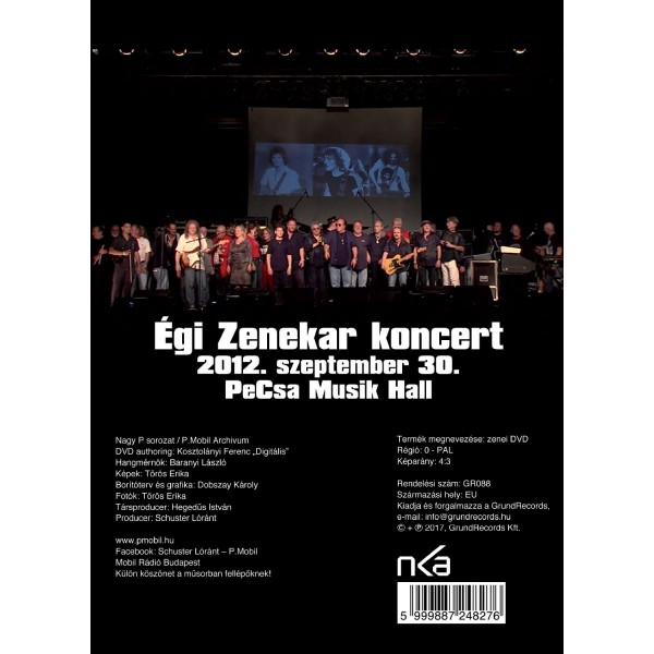 P.Mobil – Égi zenekar koncert (2DVD)